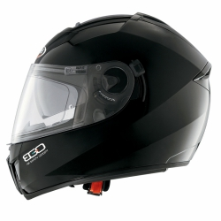 Kask firmy Caberg model  EGO Black Painted