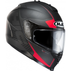 Kask HJC model IS-17 Mission Black/Red