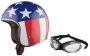 Kask firmy LS2 model EASY RIDER