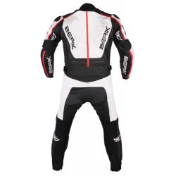 Kombinezon Motocyklowy BERIK 2.0 model LS2-10435-BK Black/White
